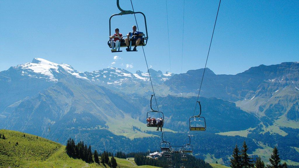Engelberg-Titlis Ski Resort featuring a gondola