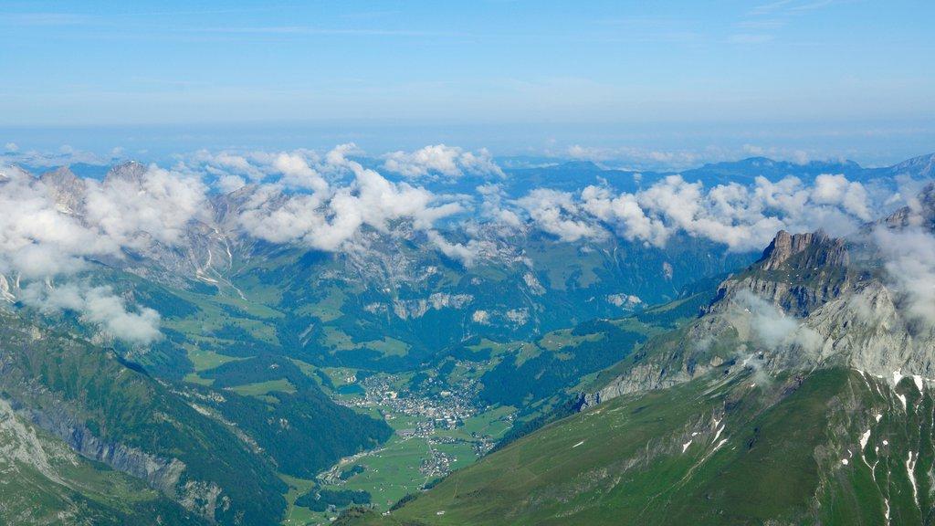 Engelberg-Titlis Ski Resort which includes landscape views