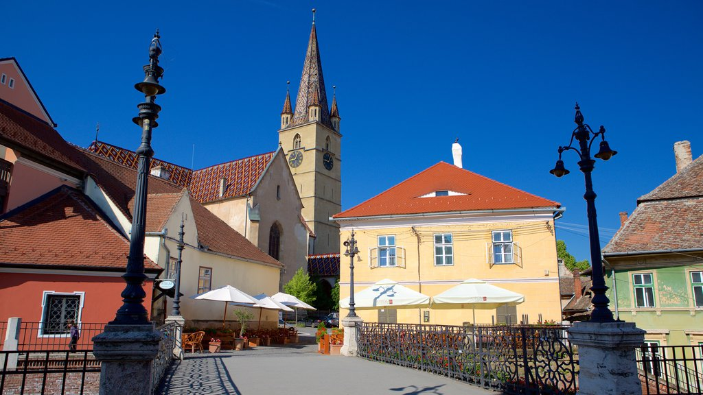 Sibiu featuring heritage architecture