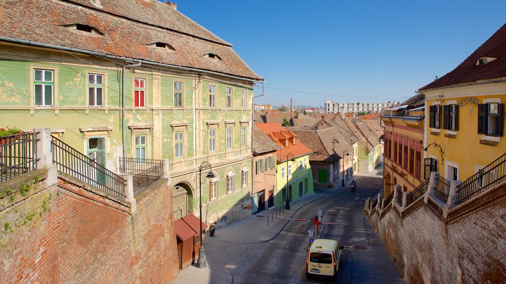 Sibiu which includes heritage architecture