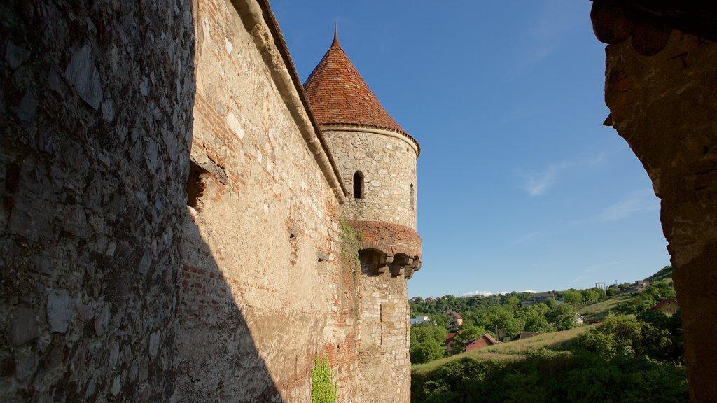 Hunedoara Castle featuring heritage architecture