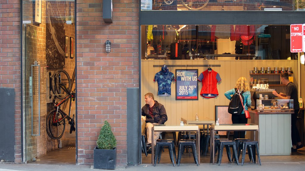 Surry Hills which includes cafe lifestyle