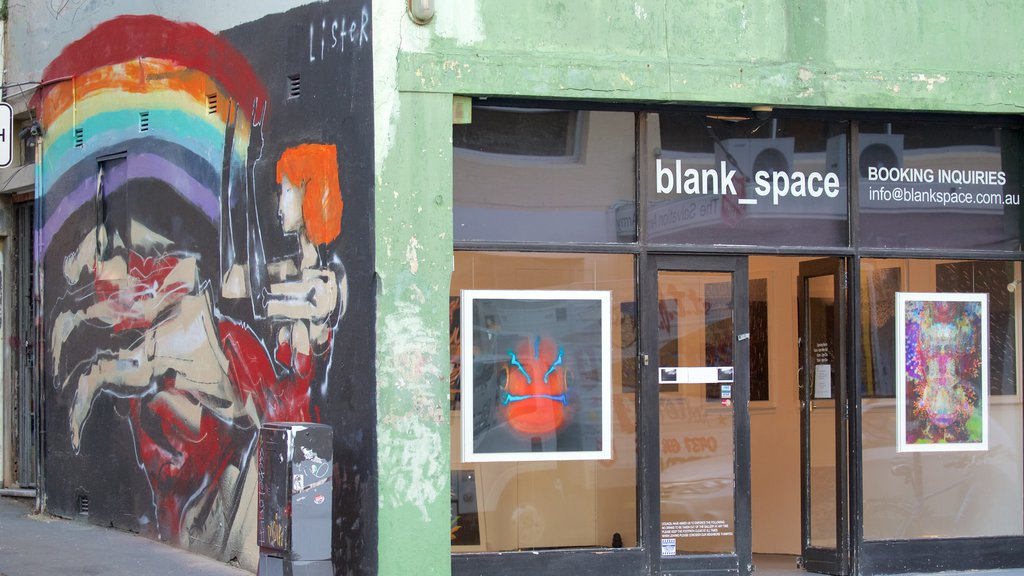 Surry Hills which includes outdoor art