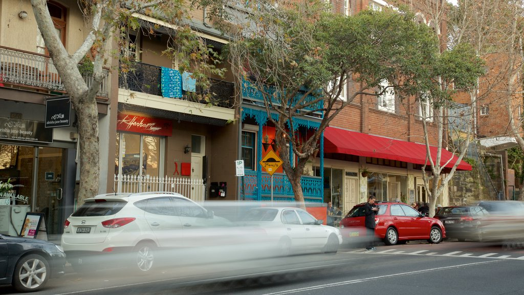 Surry Hills featuring street scenes