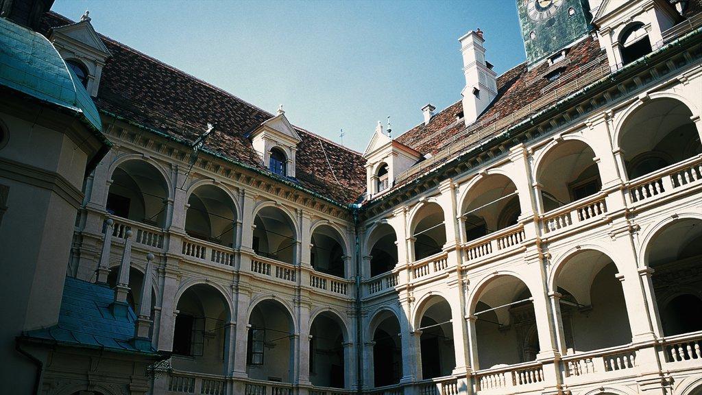 Graz showing heritage architecture