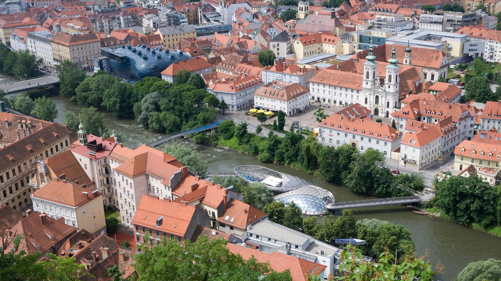 Graz featuring heritage architecture