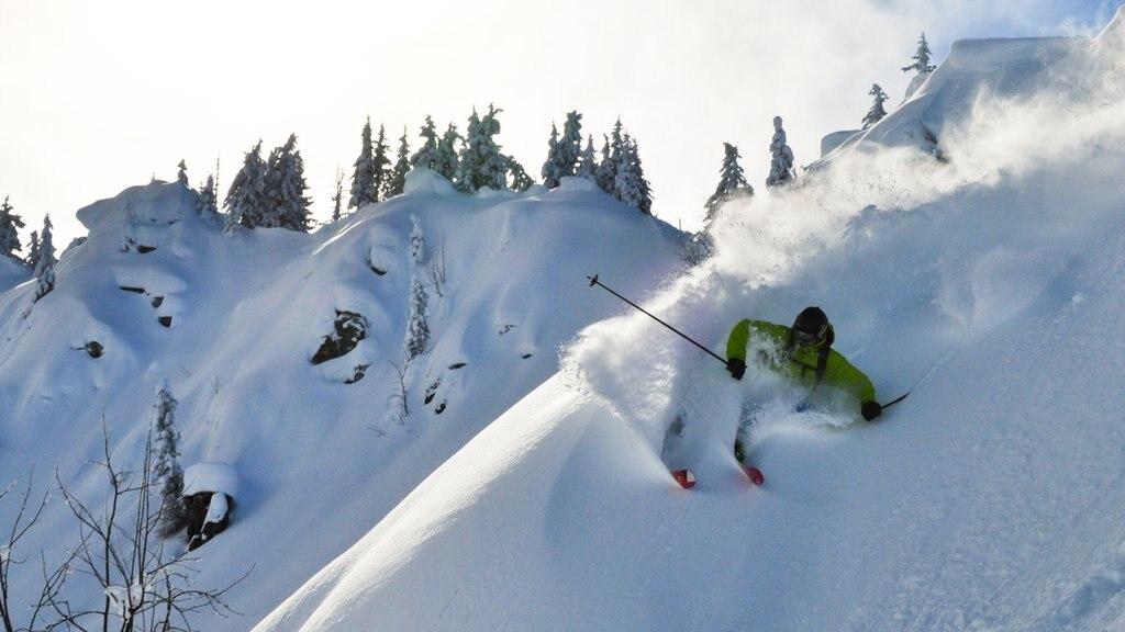Westendorf mostrando nieve, esquiar en la nieve y montañas