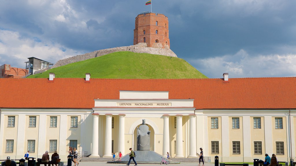 National Museum of Lithuania featuring a castle