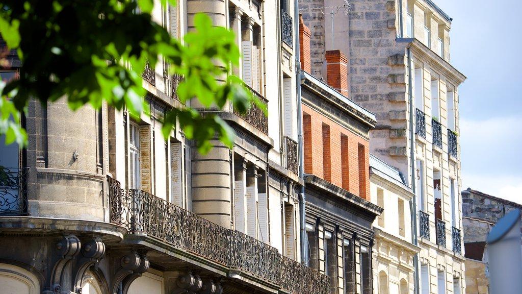 Bordeaux which includes a city