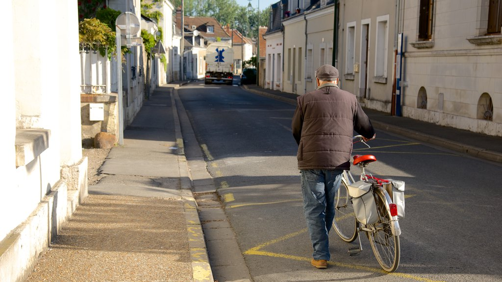 Amboise which includes cycling as well as an individual male