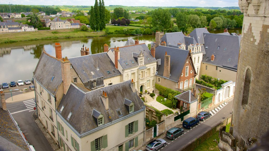 Amboise which includes a river or creek, a small town or village and heritage elements