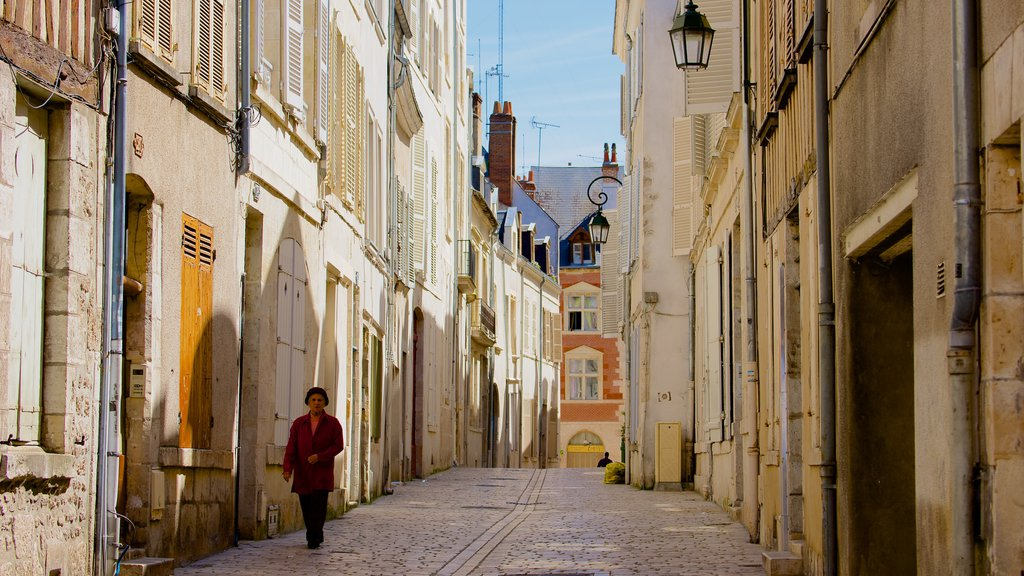 Orleans which includes street scenes and heritage elements as well as an individual femail