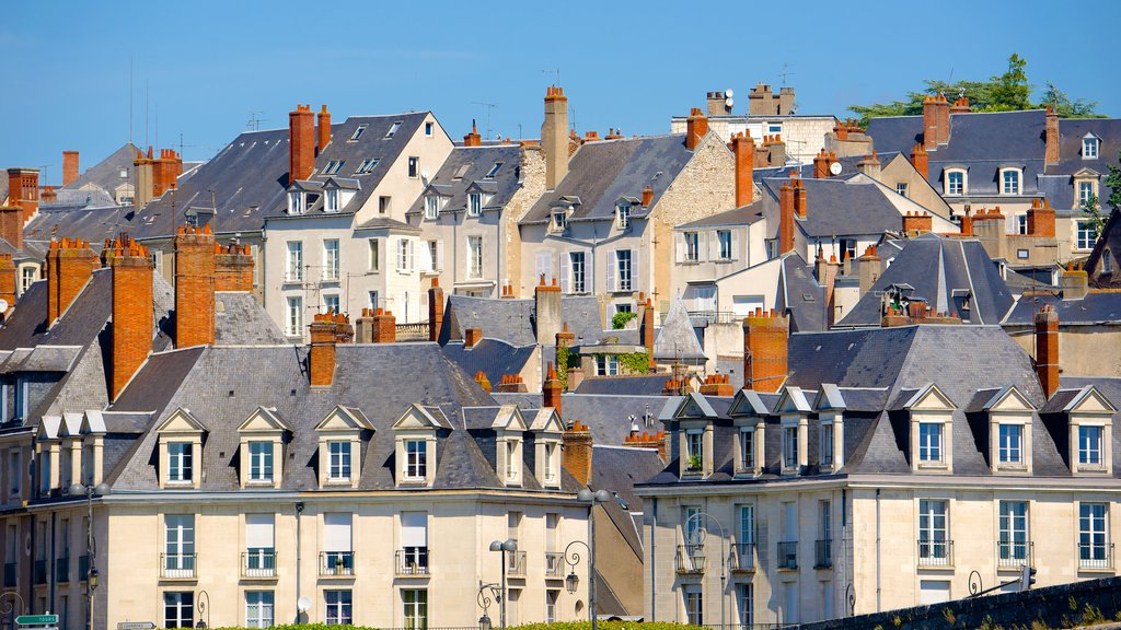 Blois which includes a city