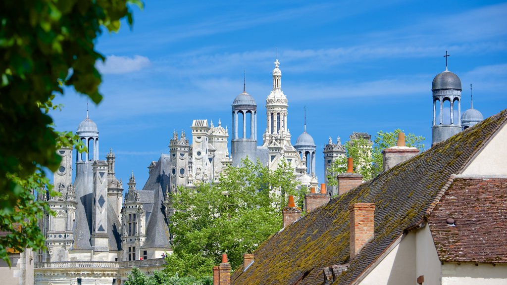 Chateau de Chambord featuring a castle and heritage architecture