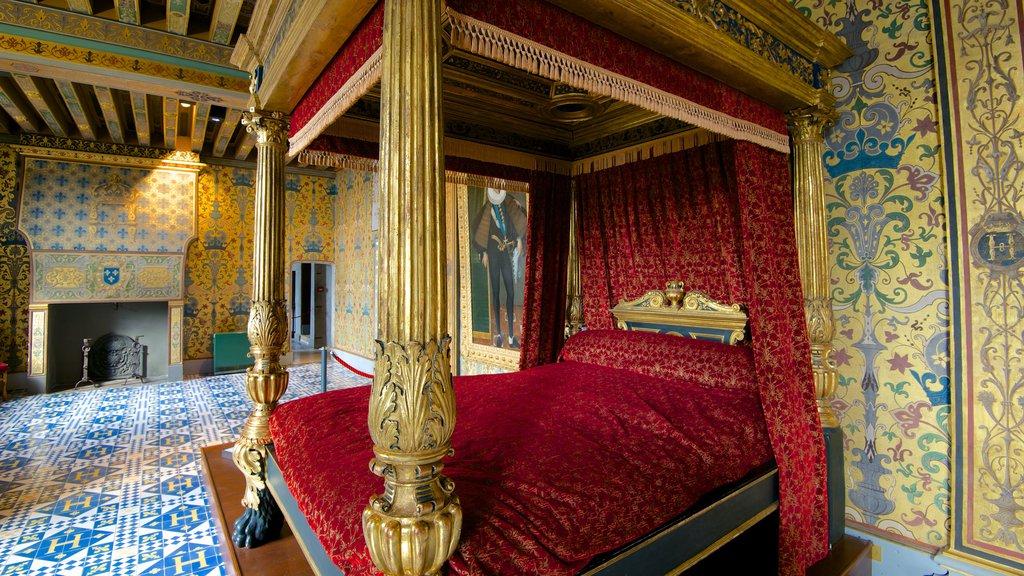 Chateau de Blois featuring interior views and a castle