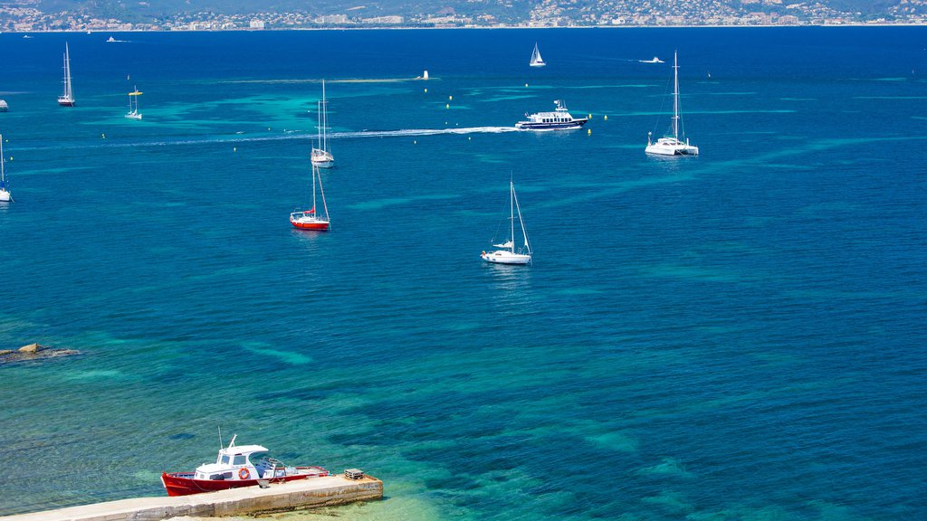 Ile Sainte-Marguerite showing sailing, a bay or harbor and boating