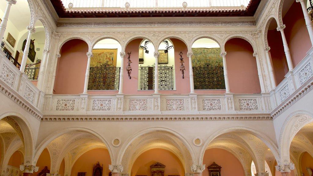 Villa Ephrussi which includes heritage architecture