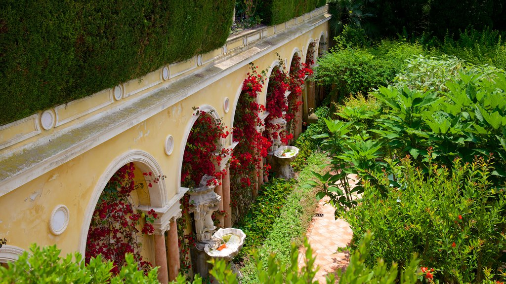 Villa Ephrussi which includes a garden and a castle