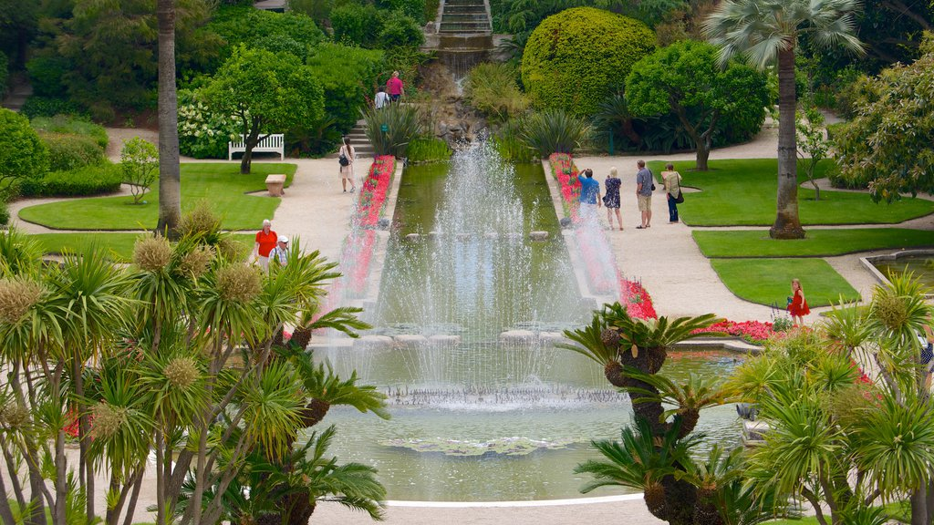Villa Ephrussi which includes a garden and a fountain