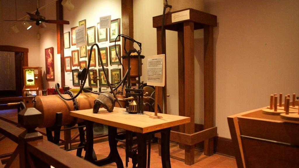 Biedenharn Coca-Cola Museum which includes interior views