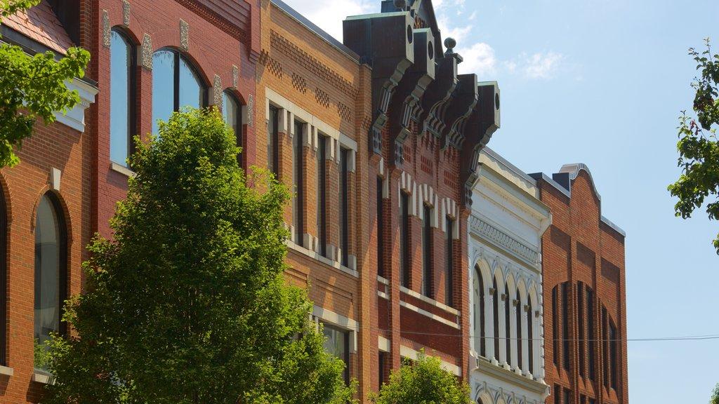 Roanoke showing heritage elements