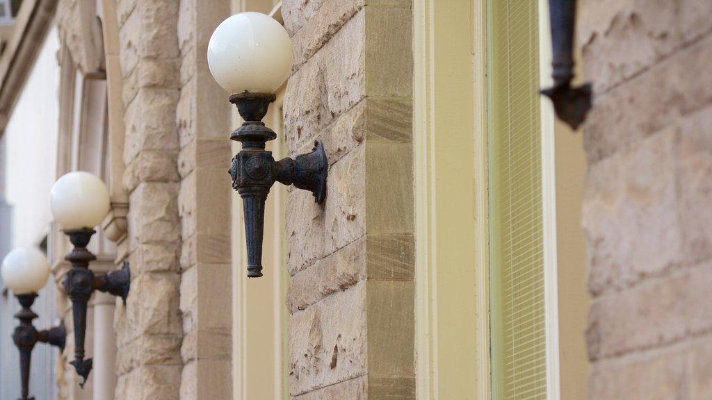 Harrisonburg mostrando elementos del patrimonio