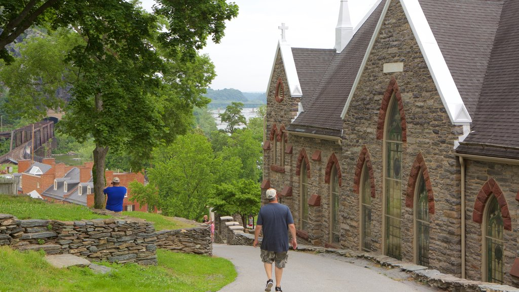 Harpers Ferry National Historical Park which includes heritage elements and a small town or village