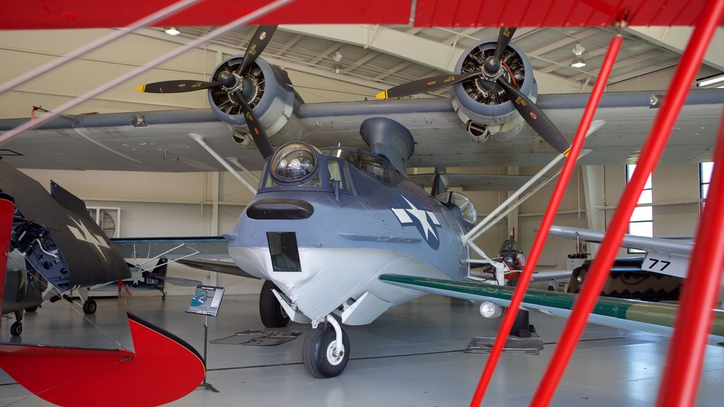 Military Aviation Museum featuring aircraft