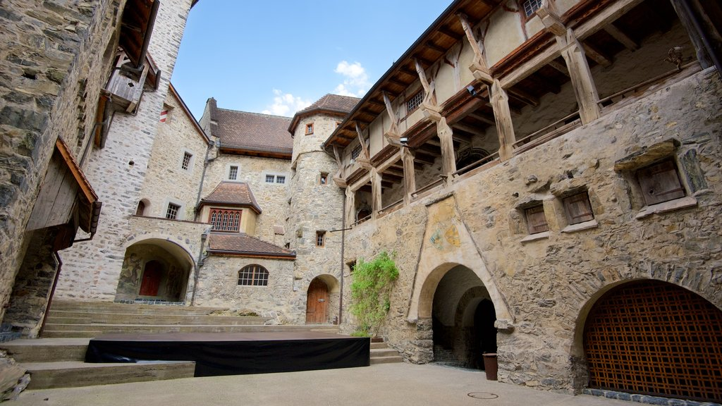 Liechtenstein which includes chateau or palace and heritage elements