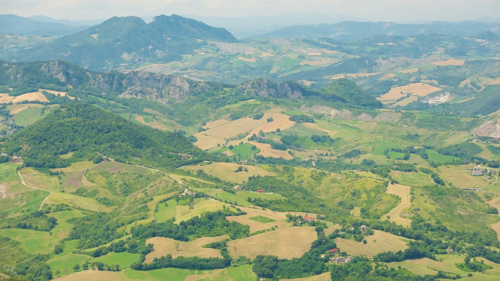 San Marino featuring landscape views, farmland and tranquil scenes
