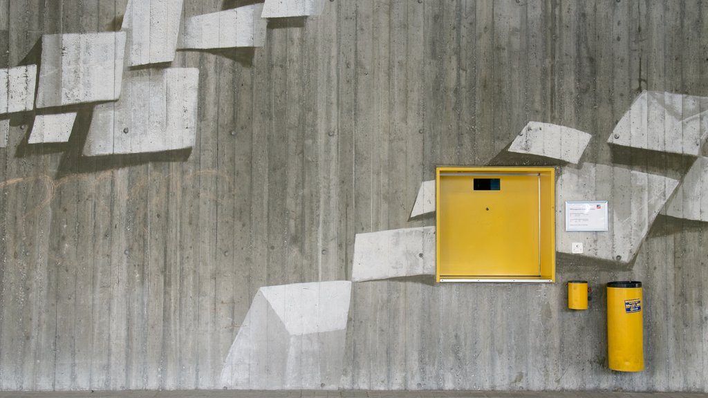 Liechtenstein showing outdoor art