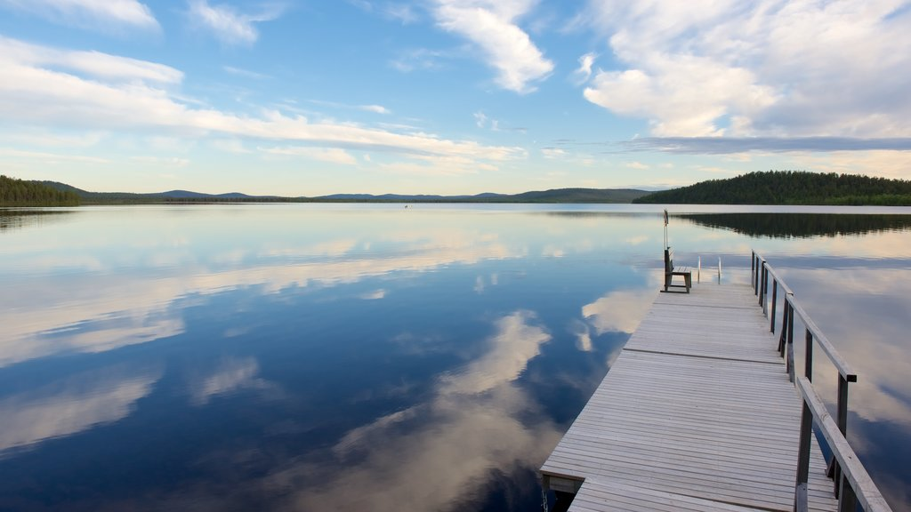 Inari which includes landscape views, views and a lake or waterhole