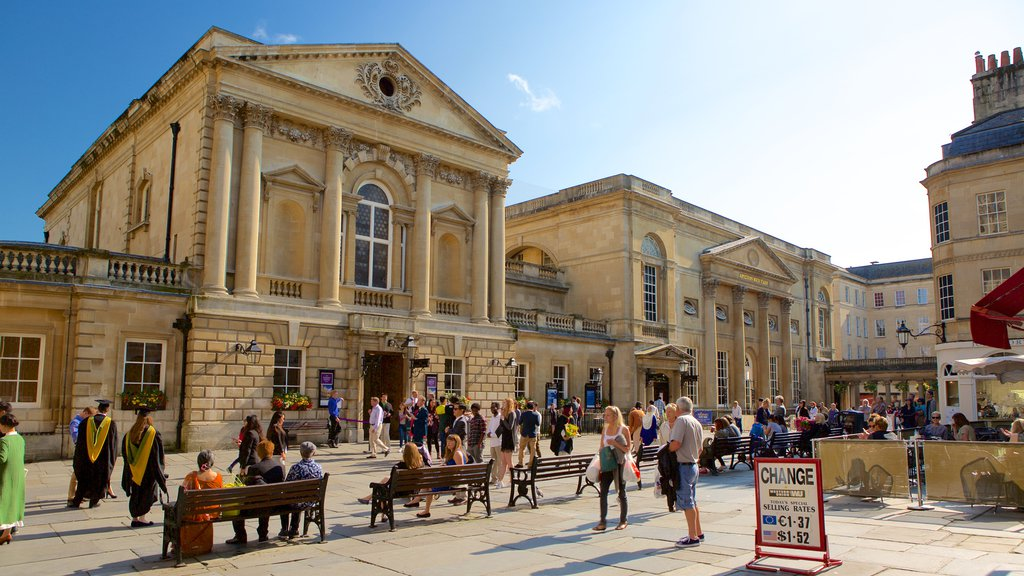 Bath featuring heritage architecture, a square or plaza and a city