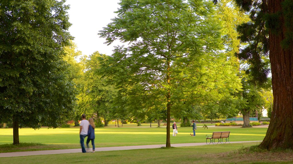 Cheltenham showing a park as well as a couple