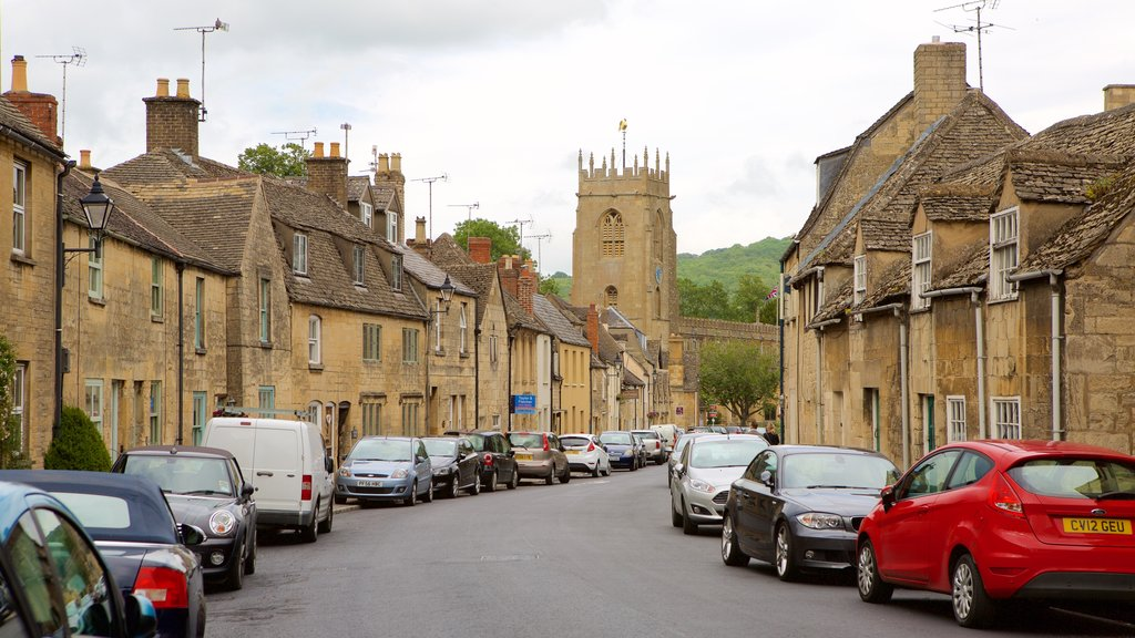 Winchcombe which includes heritage elements, street scenes and a small town or village