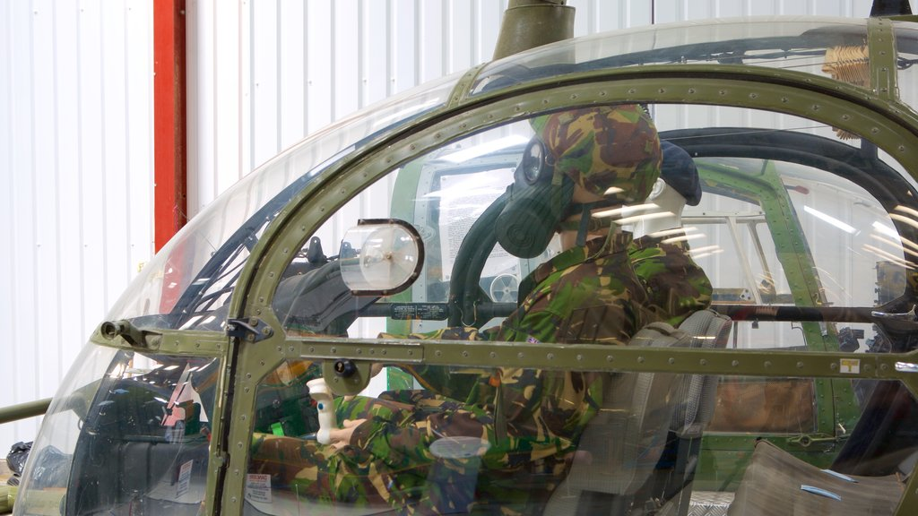 International Helicopter Museum which includes aircraft and military items