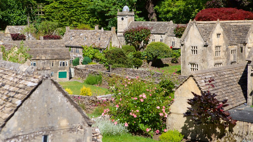 The Model Village showing a small town or village