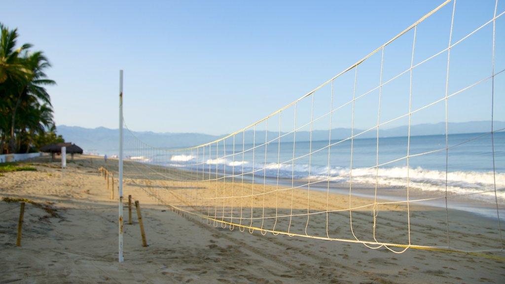 Nuevo Vallarta Beach showing a sandy beach