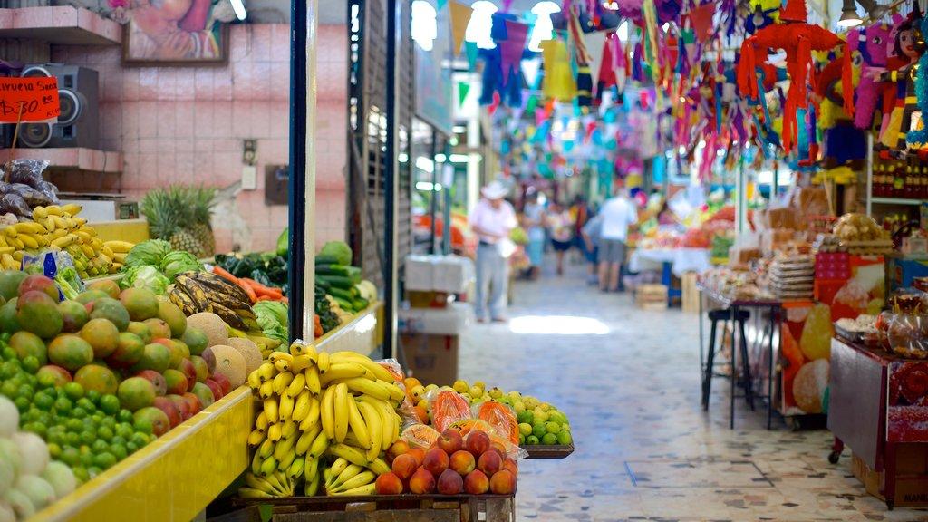 Jose Maria Pino Suarez Municipal Market showing food and markets