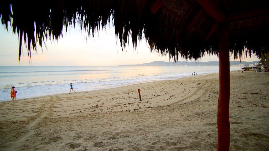 Nuevo Vallarta Beach which includes a beach