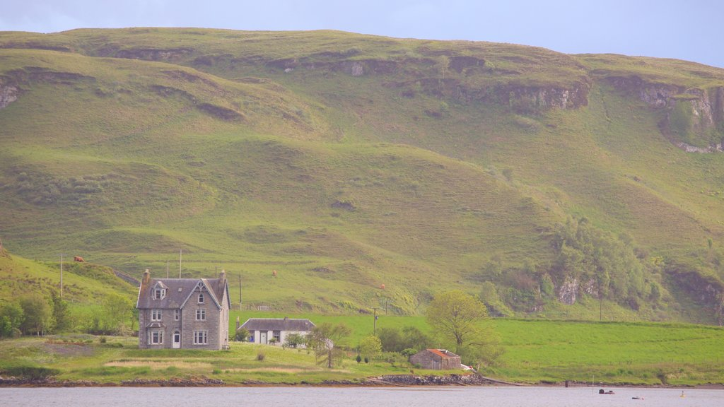 Oban showing a house and tranquil scenes