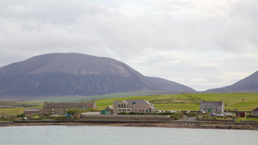 Ward Hill which includes a coastal town and mountains
