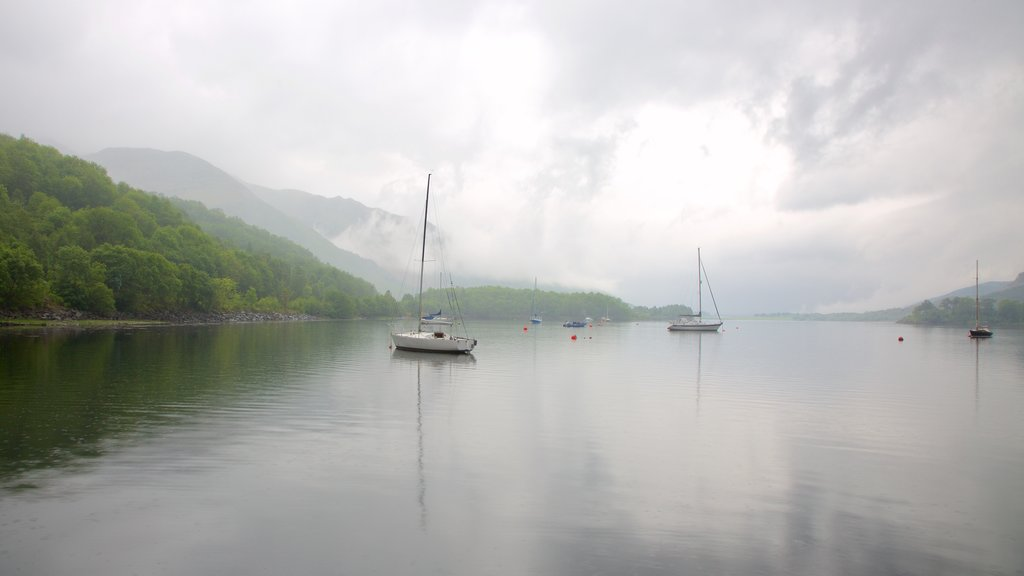 Glencoe which includes boating, a lake or waterhole and sailing