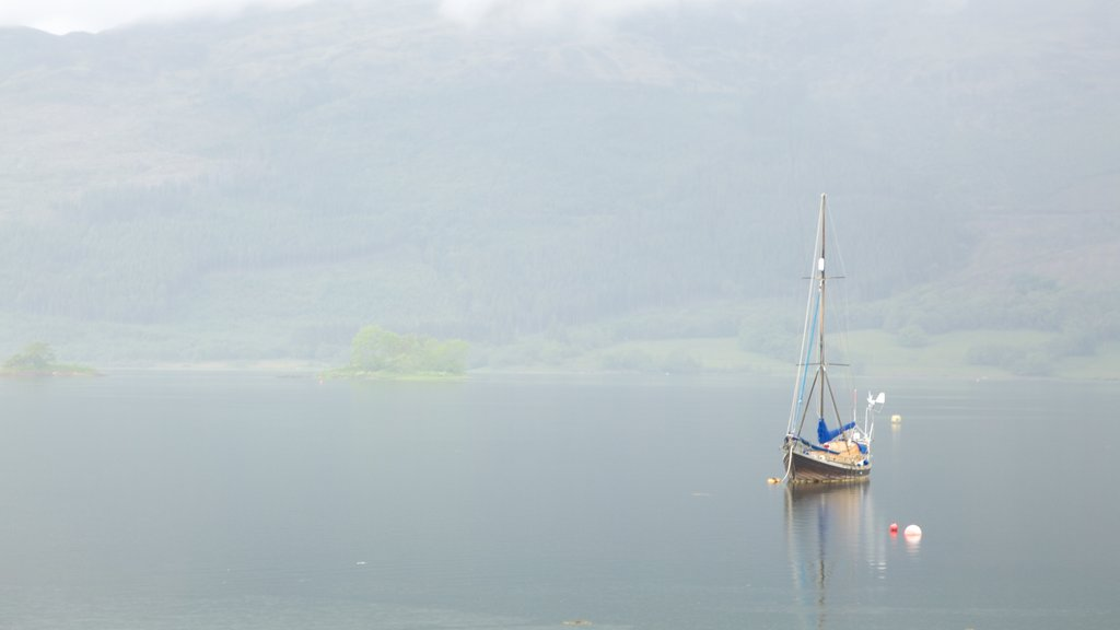 Glencoe featuring sailing, boating and a lake or waterhole