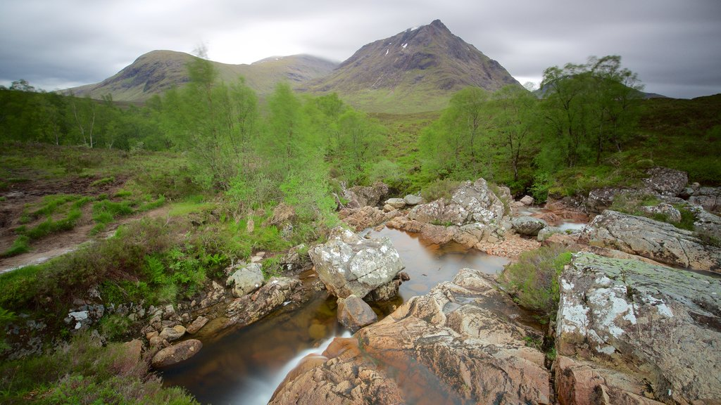 Glencoe showing a river or creek and tranquil scenes