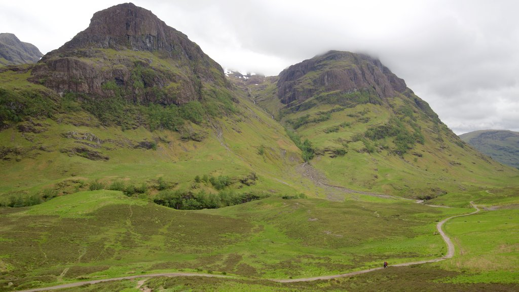 Glencoe featuring tranquil scenes and mountains