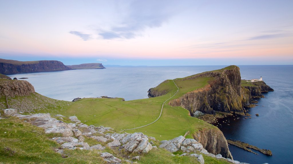 Isle of Skye featuring rugged coastline and tranquil scenes