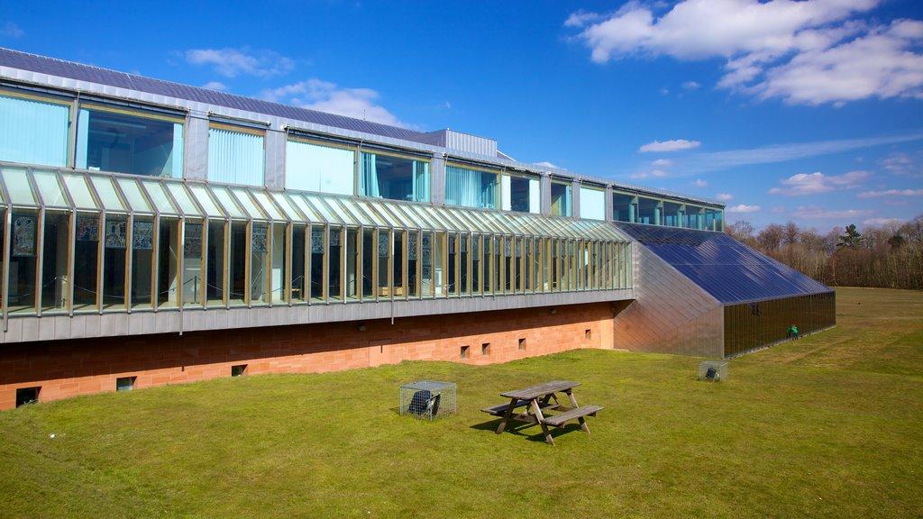 Burrell Collection ofreciendo arquitectura moderna