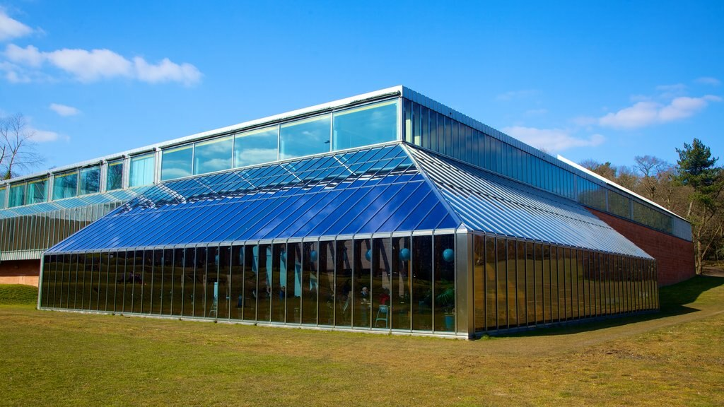 Burrell Collection mostrando arquitectura moderna