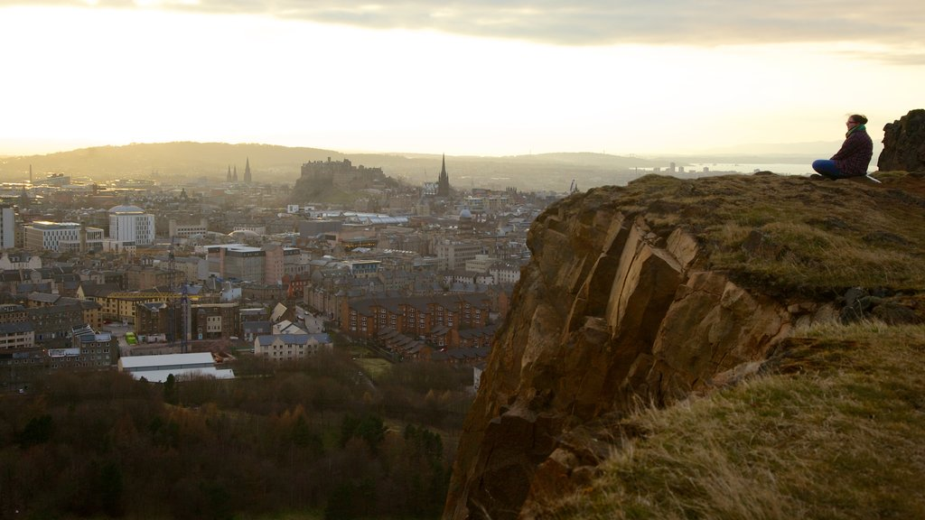 Arthur\\\'s Seat which includes a city as well as an individual femail